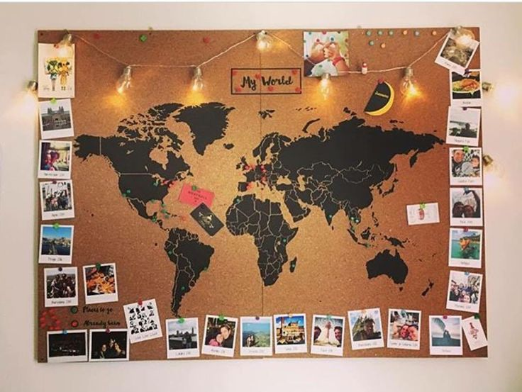 carte du monde à punaiser Idée cadeau voyage : Le tour de 15 mappemondes originales