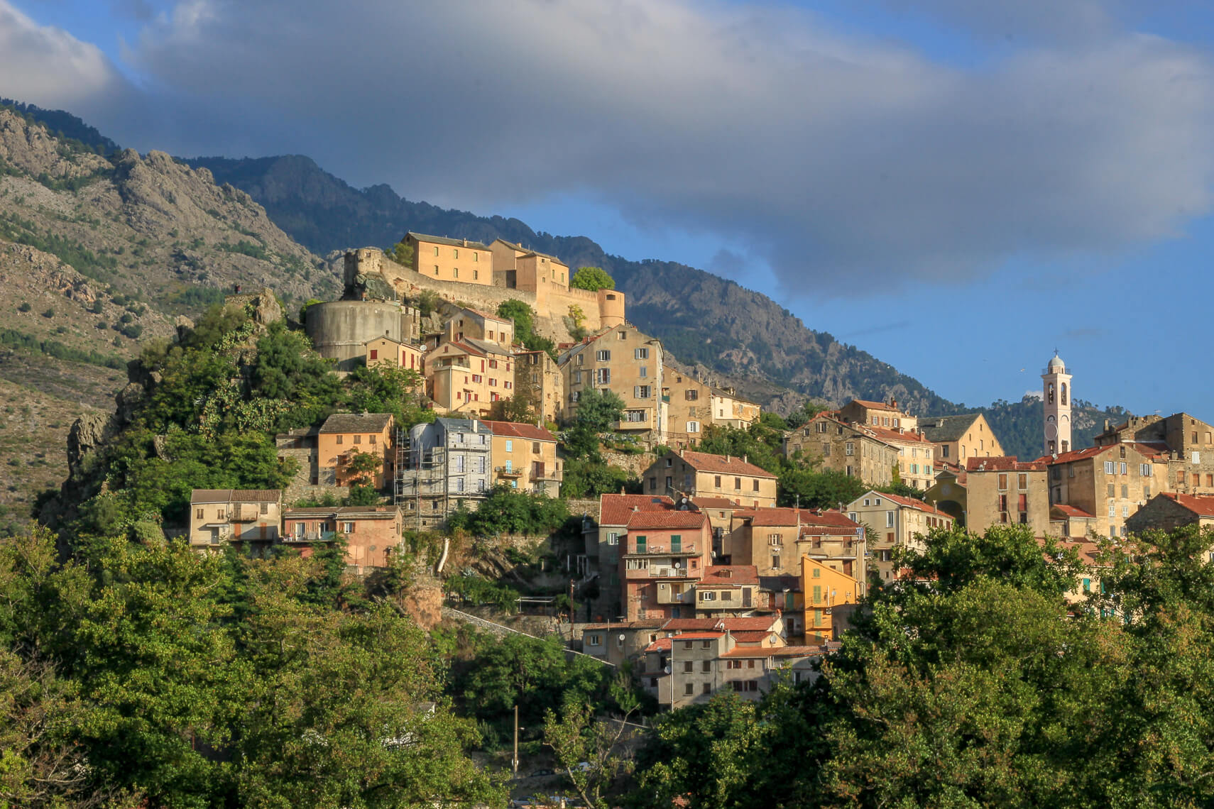 Corte : au coeur de la Corse